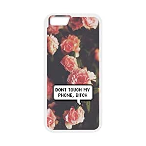 kimcase Custom Don't touch my phone Cover for iPhone6 4.7""