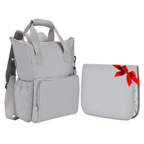 Habor Diaper Backpack, Water Resistant Oxford M...
