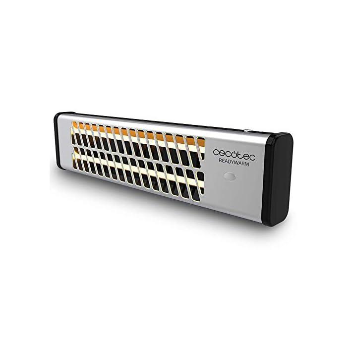 41X1kjACVyL La tecnología Total Control permite seleccionar el ángulo de incidencia del calor El sistema Pull Chain Easy permite controlar los dos niveles de potencía y poner o detener el funcionamiento del radiador El modo eco permite optimizar el consumo de energía