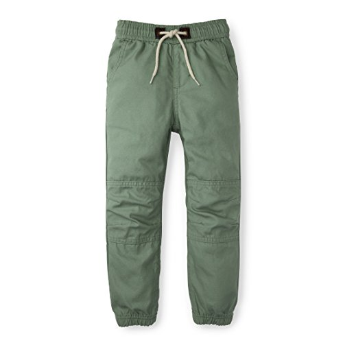Hope & Henry Boys Olive Green Pull on Jogger
