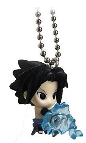 """Naruto Shippuden Swing Keychain - 1"""" Sasuke with Chidori"""