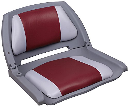 Leader Accessories Molded Fold Down Boat Seat (Fold Down Boat Seat)