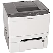 Lexmark CS410dtn Color Laser Printer with 550 Sheet Tray, Network Ready, Duplex Printing and Professional Features