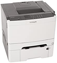 Vivid Color. Online Versatility. The Lexmark 28D0100 network-ready color laser printer with 2-sided printing and 900-sheet standard input, a 800 MHz dual-core processor and 256 MB of standard memory prints at up to 32 pages per minute...