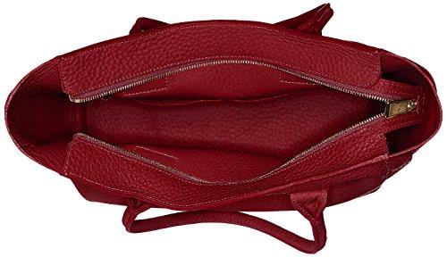FURLA Capriccio M Tote - Borsa Donna, Rosso (Ciliegia D), 13x30x31 cm (B x H T)
