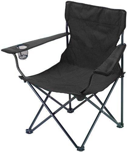 Plegable Camping pesca silla con reposabrazos y portavasos plegable playa jardín al aire libre muebles de