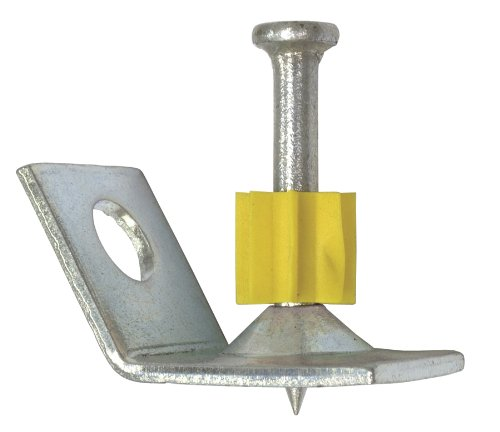 Simpson Strong Tie PECLDP-100 Compact Ceiling Clip 1-Inch Pin with  0.3-Inch Head and 0.145-Inch Shank Diameter, 100 Per Box Anchor Fasteners
