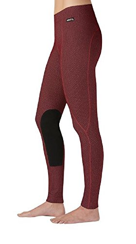 Kerrits Fleece Performance Tight Barn Red Size: Large
