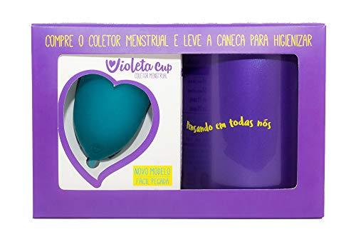 Menstrual Violeta Cup Higienizadora Mulheres