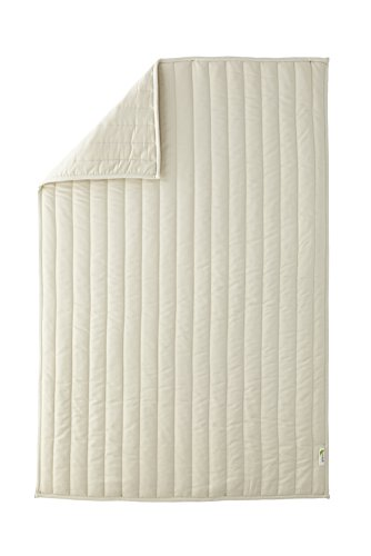 Comforter Cotton Organic Baby (Green Buds Baby Greenbuds Organic Cotton Crib Comforter with Wool Fill)