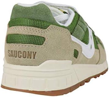 Saucony Luxury Fashion Homme 7040425 Vert Suède Baskets   Saison Permanent