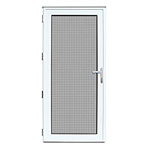 Titan 36x80 Meshtec Ultimate Security Storm Door | Aluminum