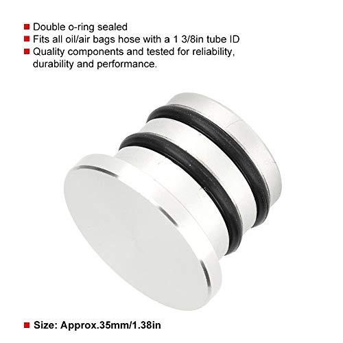 Gorgeri 1-3//8in 35mm Tappo di chiusura per valvola di chiusura Bov in lega di alluminio