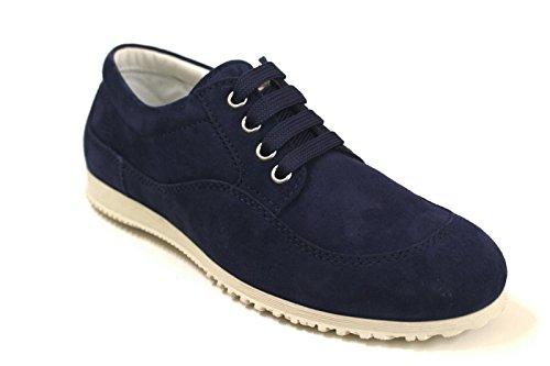 Hogan Sneakers Donna HXW2580R490CR0U800 Canapa Blu