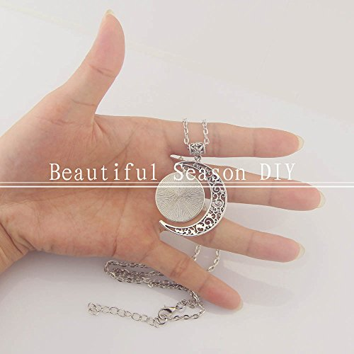 Moon jewelry SATURN Planet pendant necklace SATURN necklace SATURN Planet necklace Charm SATURN pendant Photo #3
