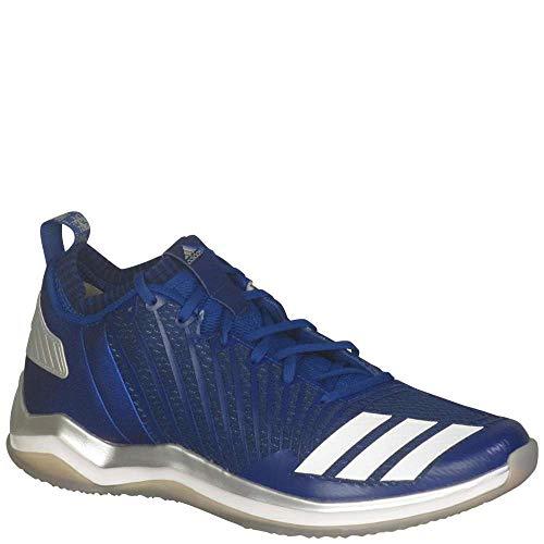 (adidas Men's Freak X Carbon Mid Baseball Shoe, Collegiate Royal/White/Blue, 11 Medium US)