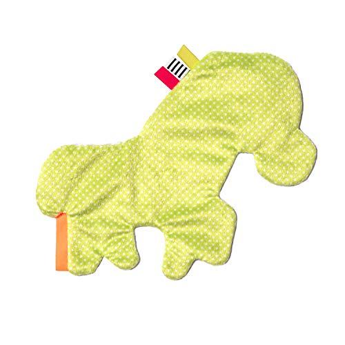 41X1o45w1vL - Manhattan Toy Wimmer-Ferguson Crinkle Zebra Baby Sensory Toy with Ribbon Tags