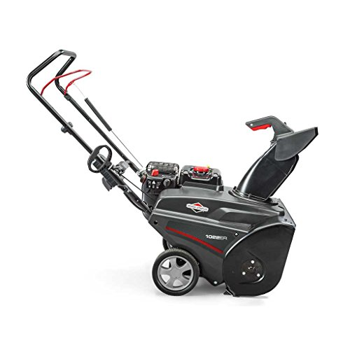 Briggs & Stratton 1022ER Single Stage Snowthrower Snow Thrower, 208cc by Briggs & Stratton (Image #4)