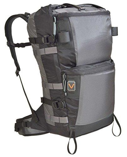 VenTerra Men's Bivy 35 Hiking Backpack, Grey, Medium