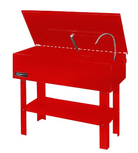 Homak RD00840450 40Gallon Parts Washer, Red by Homak Mfg. Co., Inc.