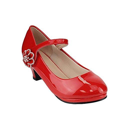 Forever Link Girl's Mary Jane Pump... Flower Red 11 ()