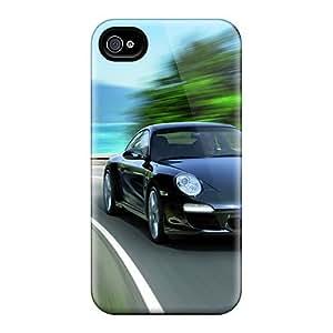 High-end Protector Diy For SamSung Note 3 Case Cover (2011 Black Porsche 911 Black Edition)