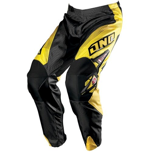 One Industries Youth Carbon Pant Carrera red/yel Sz 22