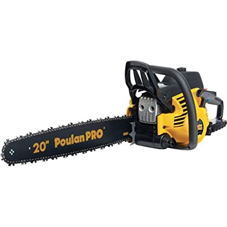 Amazon poulan pro pp5020av 20 inch 50cc 2 stroke gas powered poulan pro pp5020av 20 inch 50cc 2 stroke gas powered chain saw with carrying case greentooth Gallery