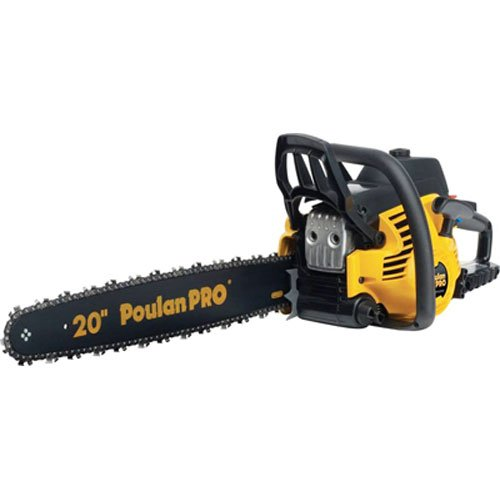 Stroke Engine Operators Manual - Poulan Pro PP5020AV 20-Inch 50cc 2 Stroke Gas Powered Chain Saw With Carrying Case