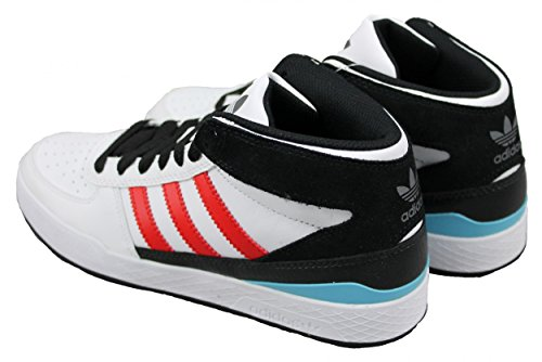 separation shoes d06b9 bb6ee ... Adidas Originals Forum X Mid High Top Schuhe G65512 Sneaker weiß ...