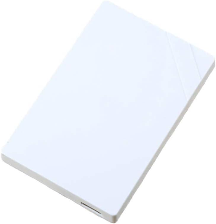 Color : White, Size : 500GB QTT Hard Disk 160GB//250GB//320GB//500GB//640GB//750GB//1TB//2TB Large Memory Mobile High-Speed Transmission USB3.0 Hard Drive