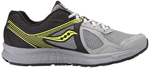 Saucony 25333-2, Zapatillas de Deporte Unisex Adulto black/grey/citron