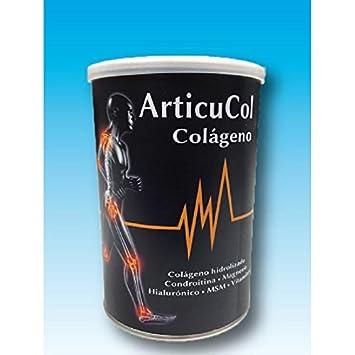 ArticuCol Colágeno Magnesio Hialurónico y Vit C Espadiet, 300 g: Amazon.es: Hogar