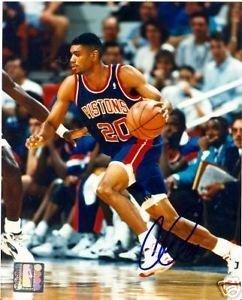 Allan-Houston-Detroit-Pistons-Signed-8x10-Photograph-Autographed-Basketballs-Pictures