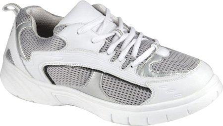 Mt. Emey Men's 9701-5L Walking Shoes,White,9 2E US