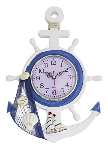 41X1swJ66bL The Best Beach Wall Clocks You Can Buy