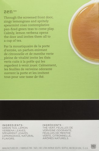 Keurig Tazo Zen Tea 32-Count K-Cups for Keurig Brewers by Starbucks (Image #3)