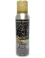 B-wild Hair and Body Glitter Spray Gold+silver 3.5 Oz **1 Can