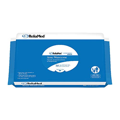 ReliaMed Soft Pack Scented Wipes 12'' x 8'' (Case of 600)