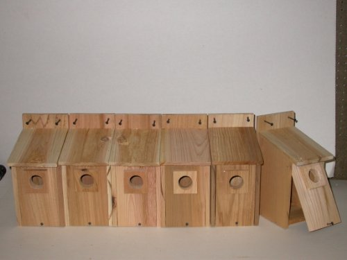 Cedarnest Bluebird Houses 6 For Sale