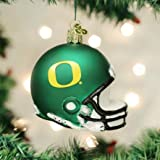 Old World Christmas 63717 Ornament, Oregon Helmet
