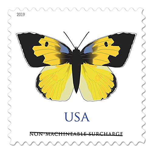 2019 USPS Non Machinable California Dogface Butterfly Non Machinable Postage Stamps (5 Sheets of 20 Each)