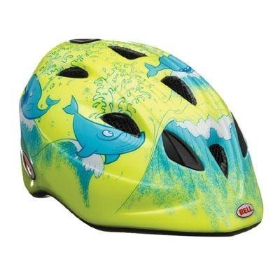 Bell Kids Tater Helm Gelb Hi-Vis Yellow Whale Wash Universal