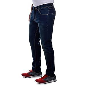 Ben Martin Men's Regular Fit Jeans (BMW7-JJ-3-GRN_34-01_Green_34)