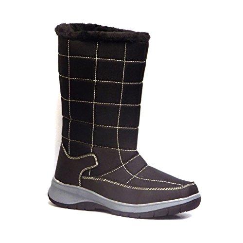 Itasca Miranda Womens Black Warm Lined Winter Boots Black oAyZCE