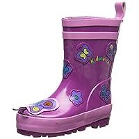 Kidorable Butterfly Rain Boot, 1 Purple