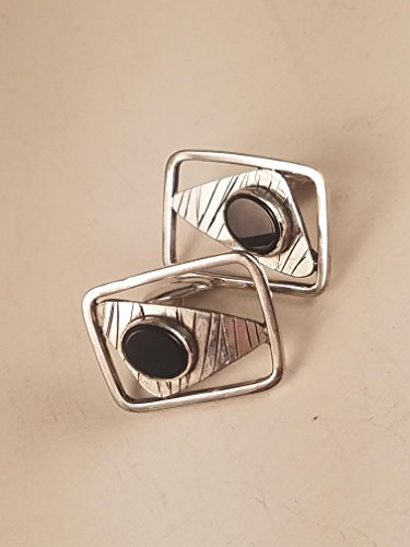 Cufflinks Onyx Handmade - Handmade