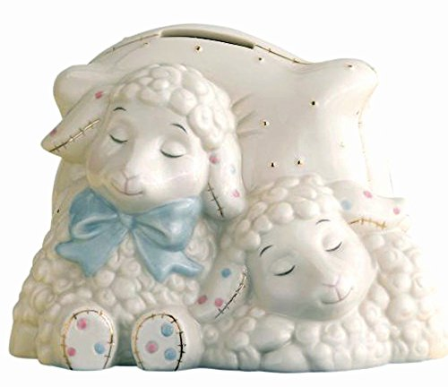 Lenox Lazy Lambs Bank Keepsake For Babies New In Box