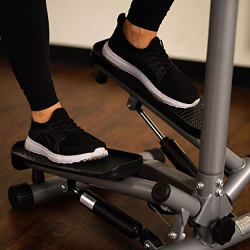 Sunny Health & Fitness Twist Stepper Step Machine w/Handle Bar and LCD Monitor - NO. 059 by Sunny Health & Fitness (Image #17)