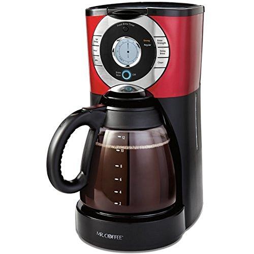 Black Decker 12-Cup Programmable Coffeemaker, Black
